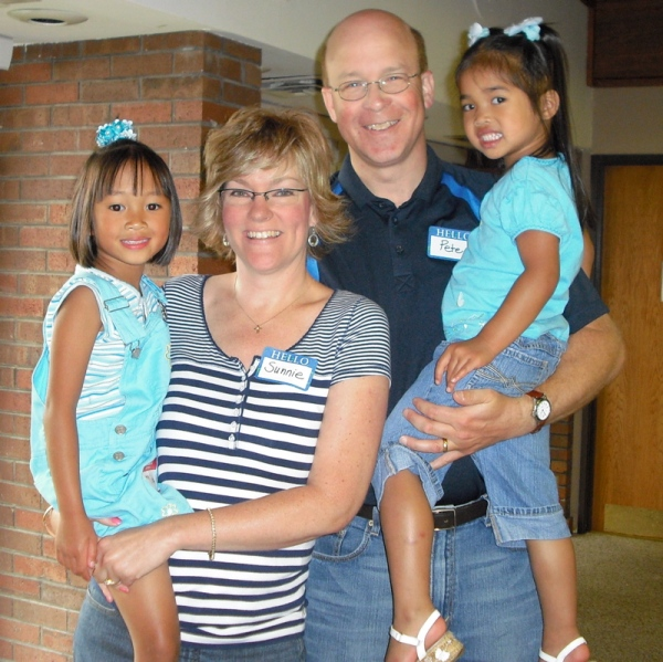 Happy Adoptive Family